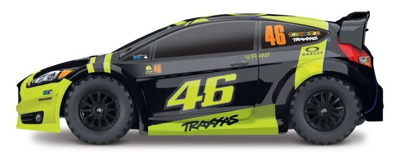 Ford Fiesta ST Rally Valentino Rossi 1:10