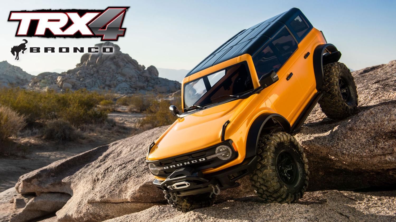 Traxxas TRX-4 Ford Bronco 2021 TQi 1:10 RTR