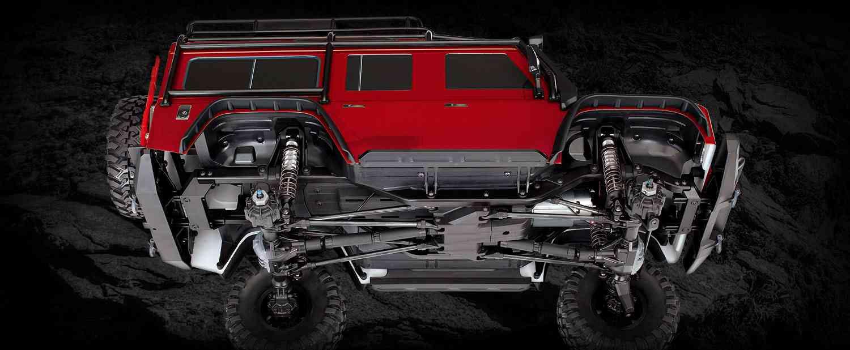 Traxxas TRX-4 Land Rover Defender 1:10 TQi TSM RTR