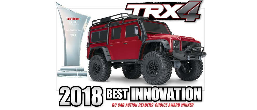Ocenění - TRX-4