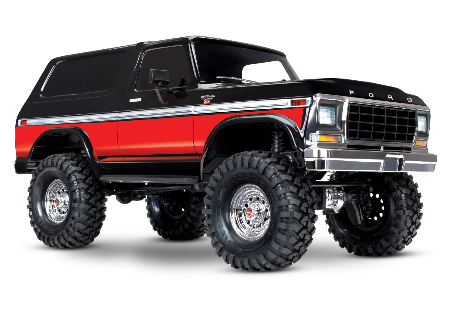 Traxxas Trx 4 Ford Bronco 110 Tqi Rtr Tra82046 Astra Wiring Diagram Rims Bcs Available Colors
