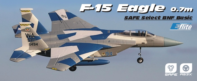 F-15 Eagle 0.7m SAFE Select BNF Basic
