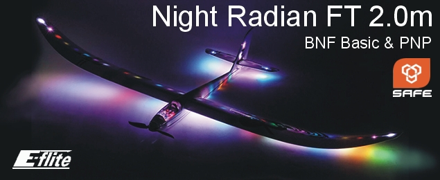 E-flite Night Radian 2.0m BNF Basic