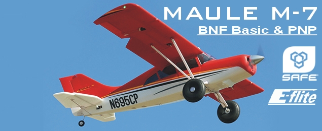 Maule M-7 1.5m SAFE Select BNF Basic, plováky