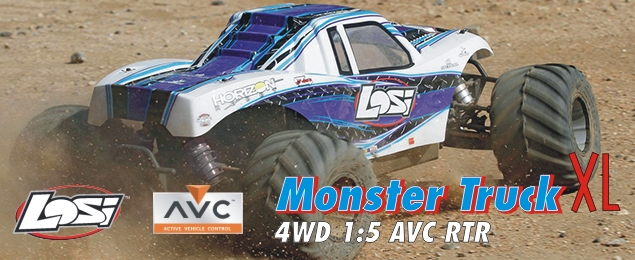 Losi Monster Truck XL 4WD 1:5 AVC RTR