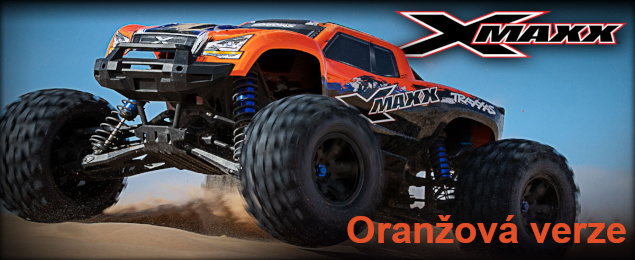 Traxxas X-Maxx Orange