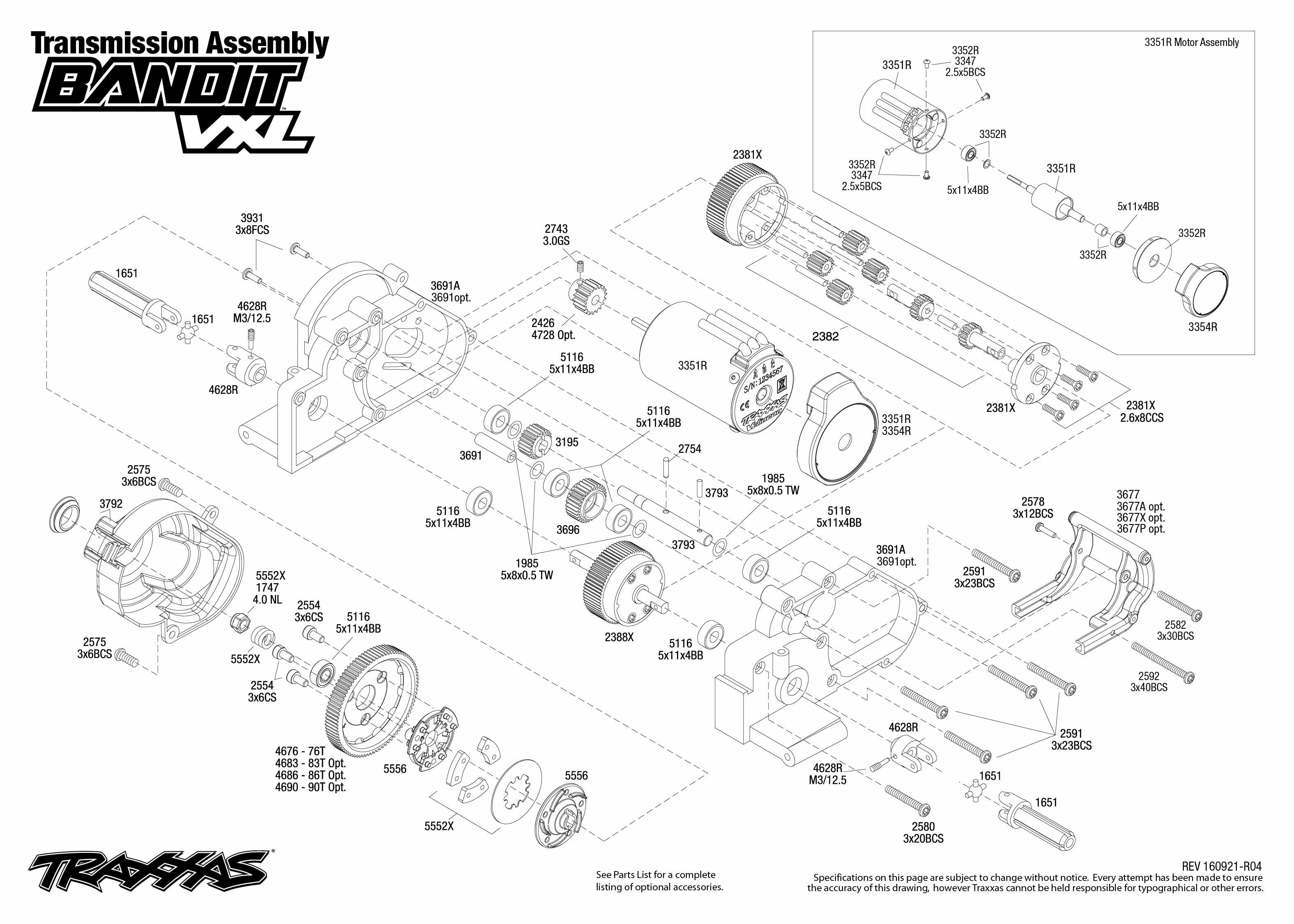 Traxxas Rustler Parts Diagram Pdf