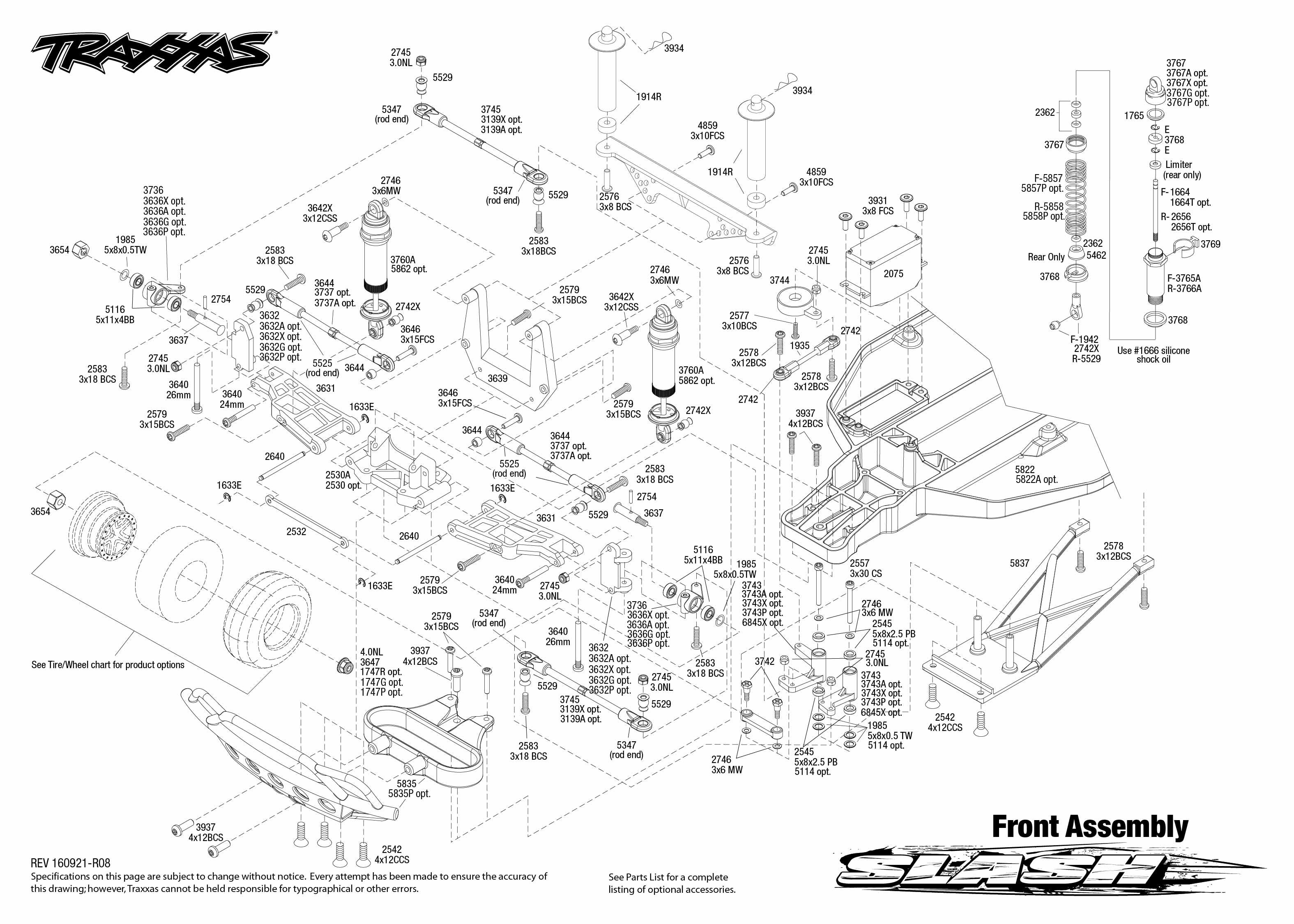 Revo 3 Wiring Diagram Jato 33 Wire Diagrams Of Toyota Traxxas 2 5 Engine Parts Trusted Slash