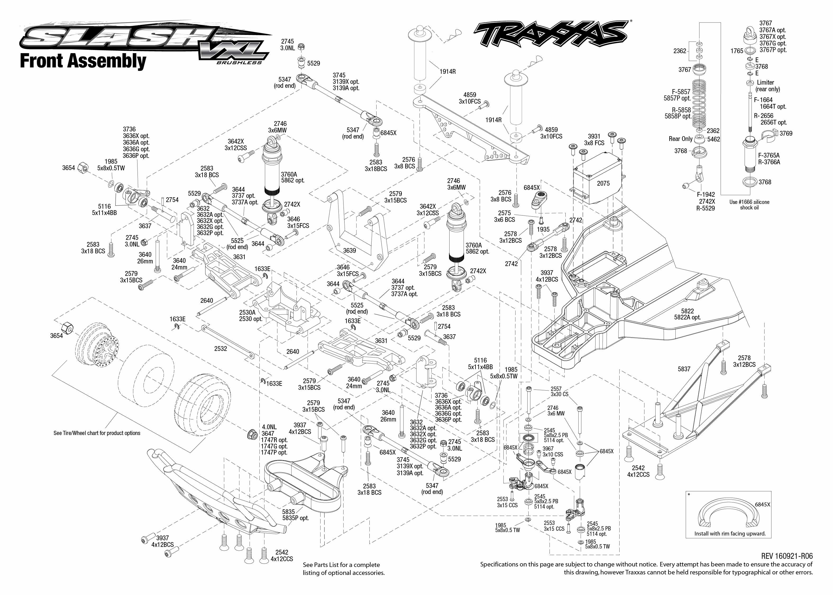 traxxas slash 2wd diagram wiring diagrams traxxas slash 2wd vxl manual traxxas slash 2wd diagram #4