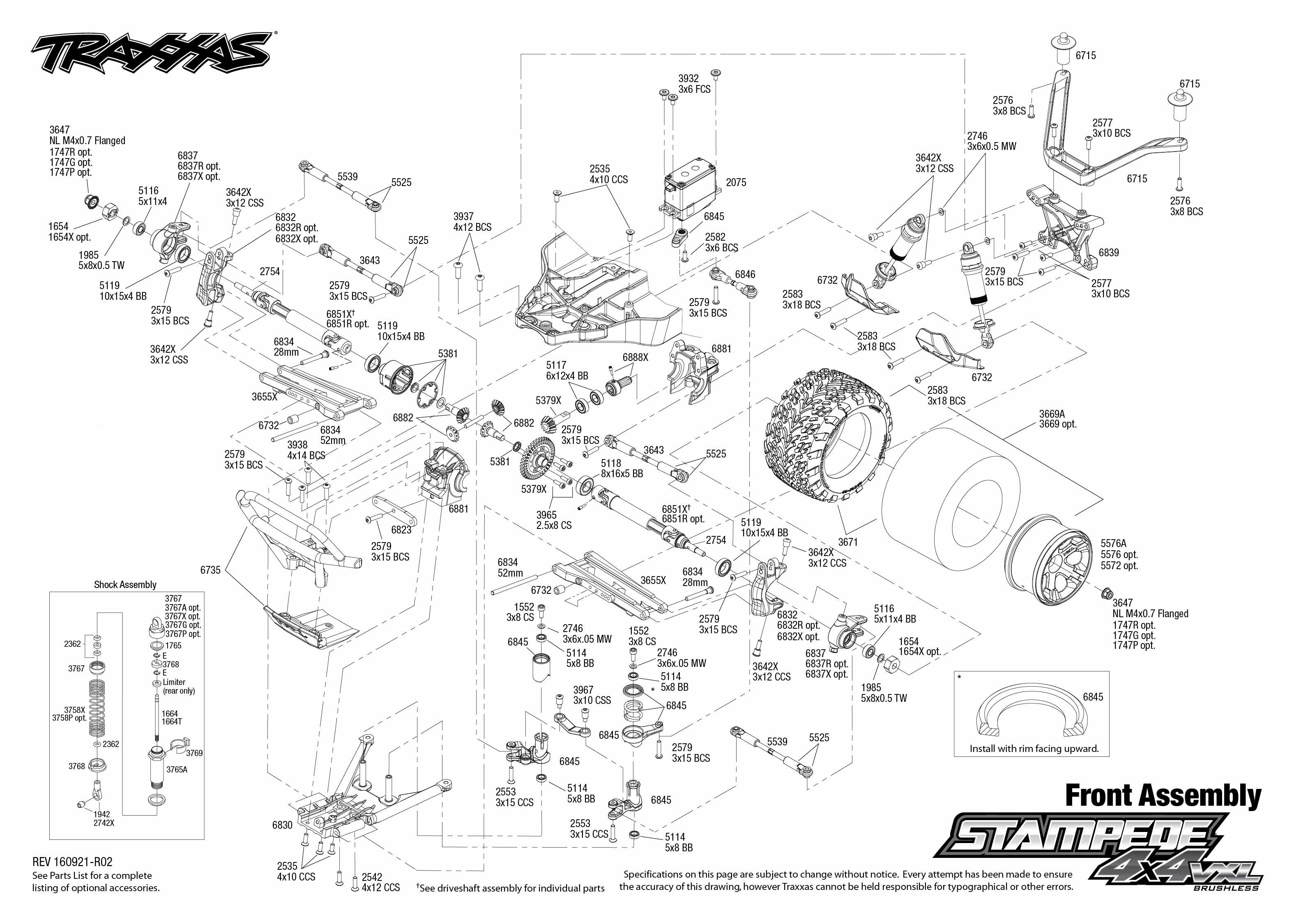 traxxas bec wiring diagram dolgular com Rc Rock Crawler Wiring Diagram  4x4 Wiring Diagram Traxxas Slash 2WD Parts Manual Traxxas Slash TCM Wiring-Diagram