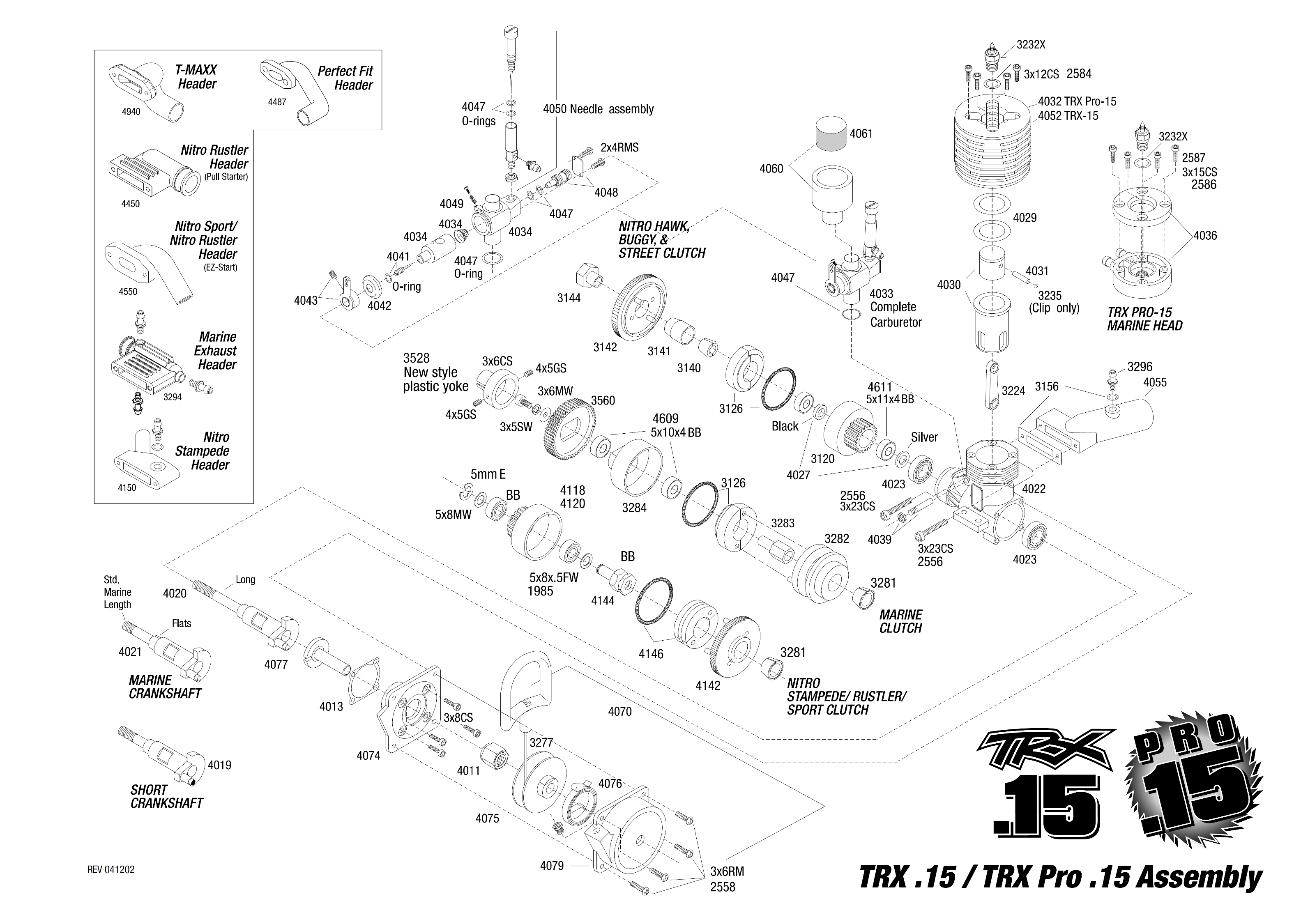 max force engine diagram t max 15 engine diagram exploded view: traxxas motor trx .15 pro s tahovým ...