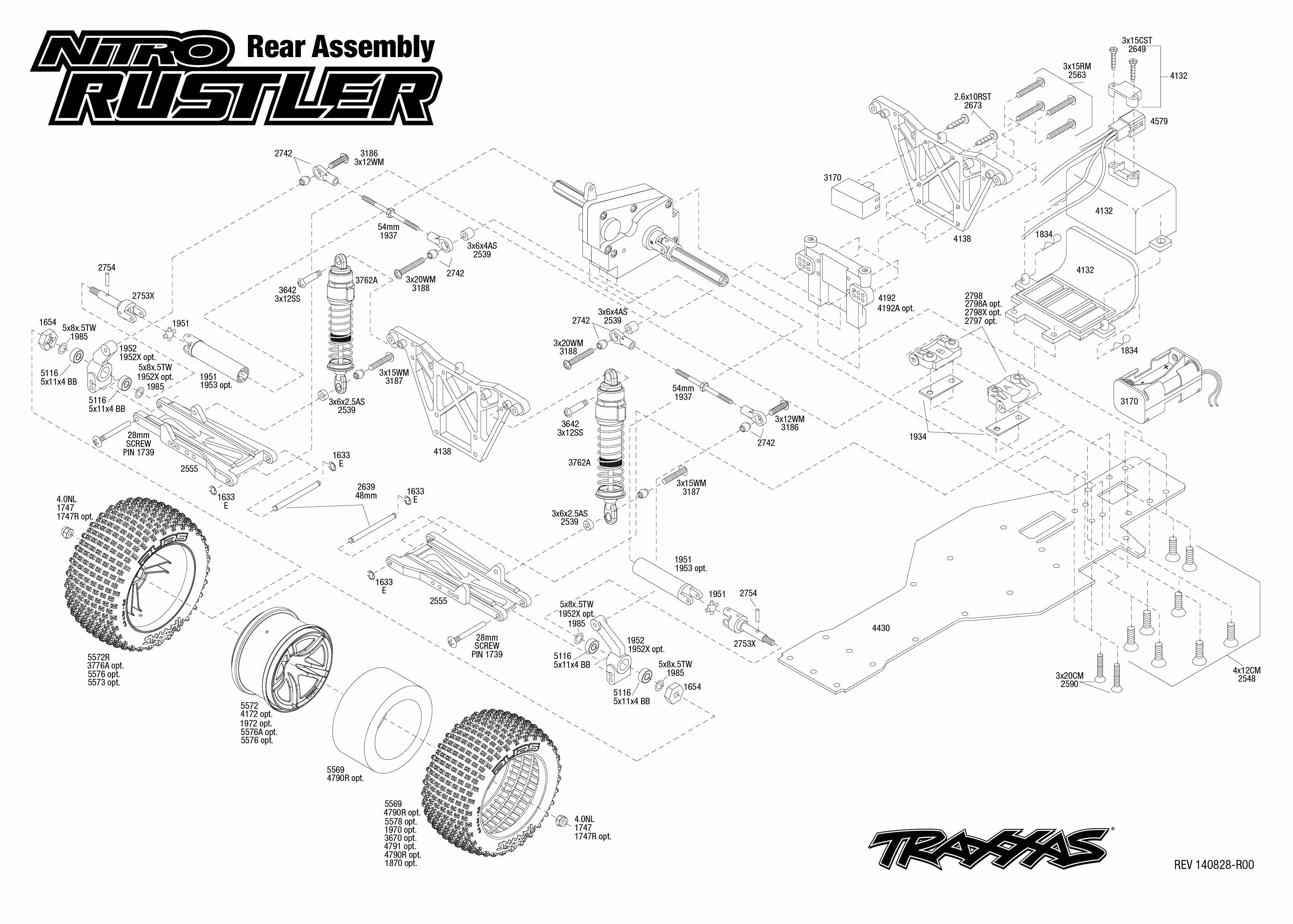 manual for traxxas nitro rustler