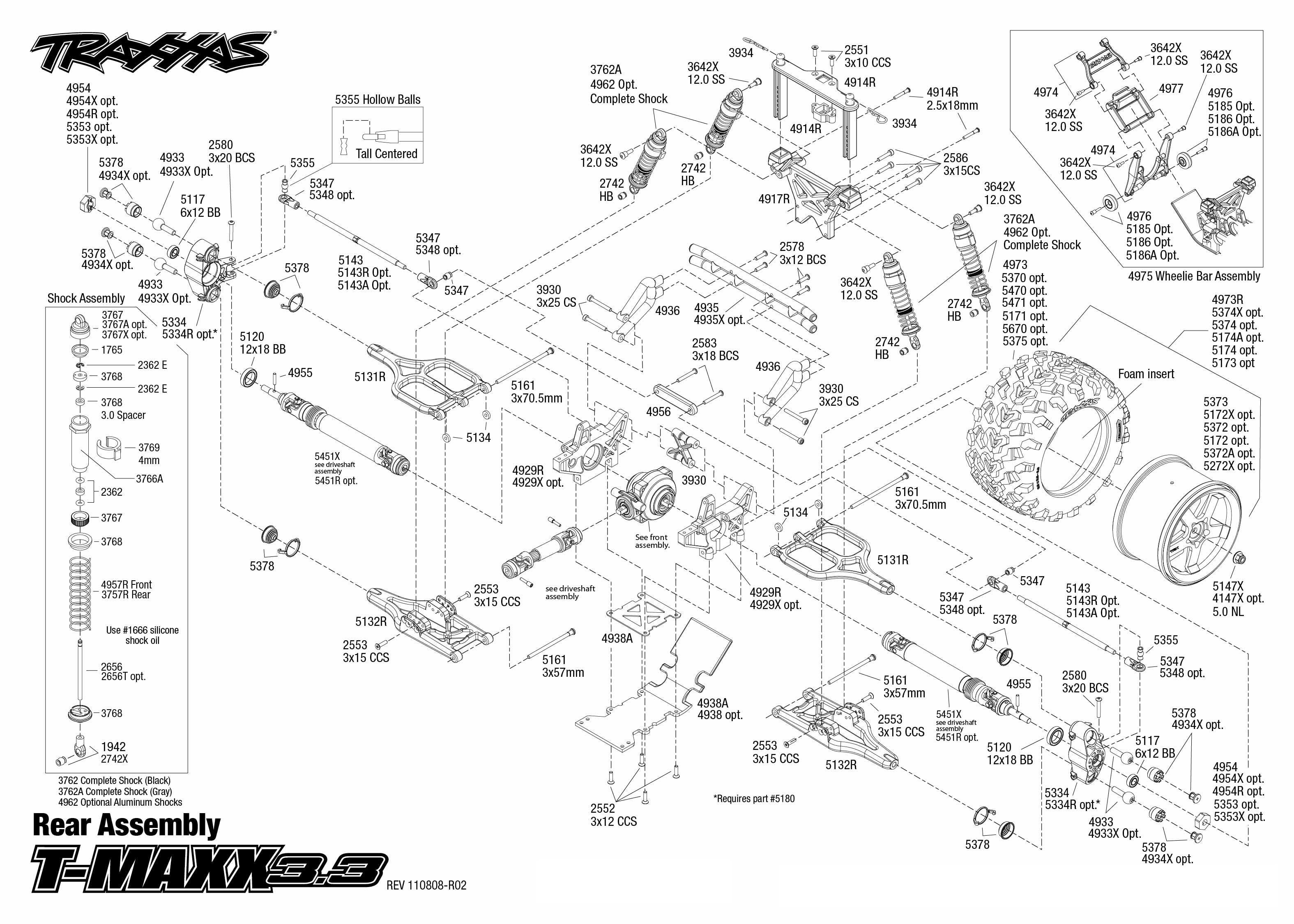 traxxas t maxx 33 owners manual how to and user guide instructions u2022 rh taxibermuda co Traxxas T-Maxx 2 5 Performance Parts T-Maxx 2.5 Exploded-View