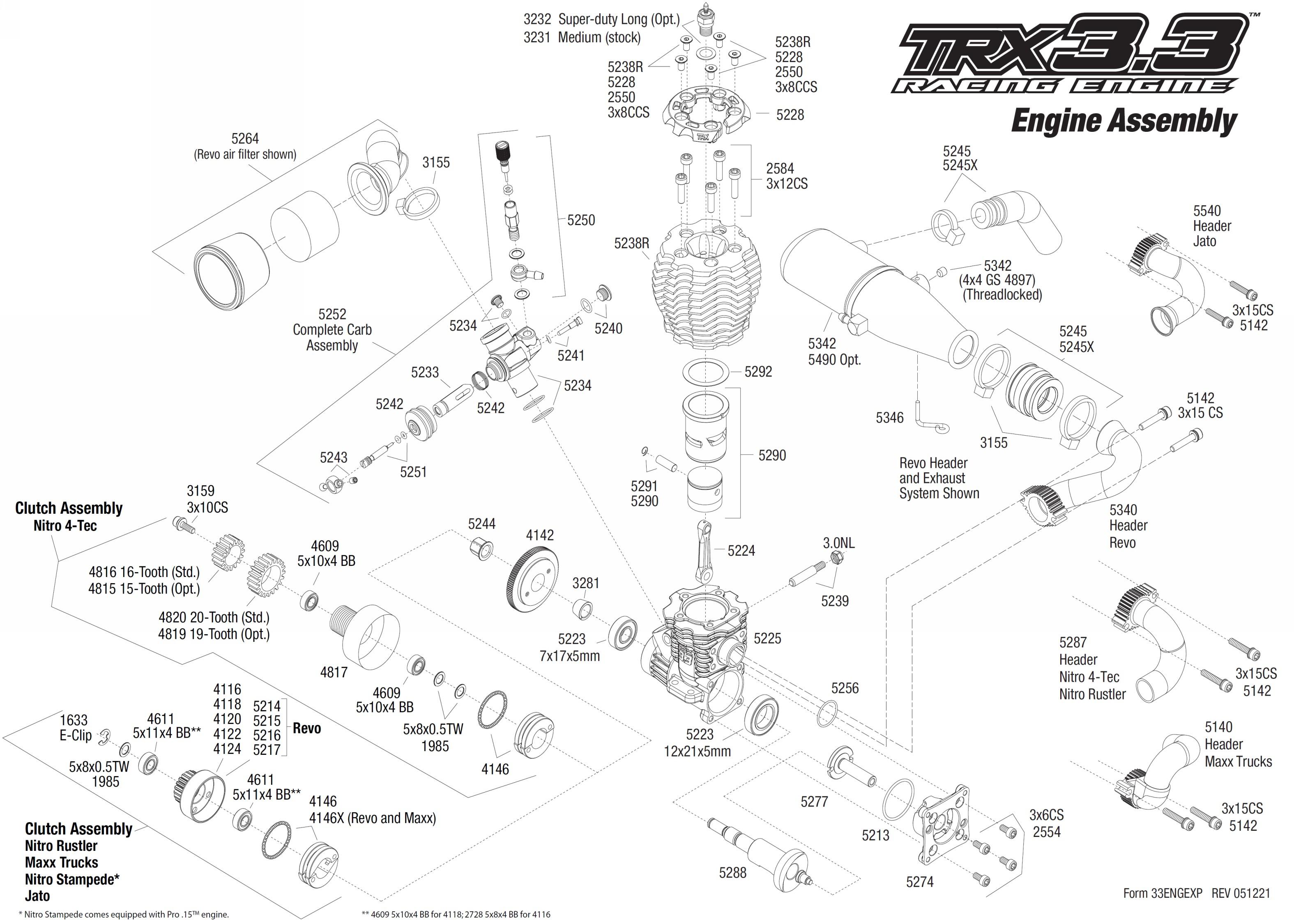revo 3 3 wiring diagram basic wiring diagram u2022 rh rnetcomputer co Traxxas 3.3 Engine Traxxas T-Maxx 3.3 Tuning