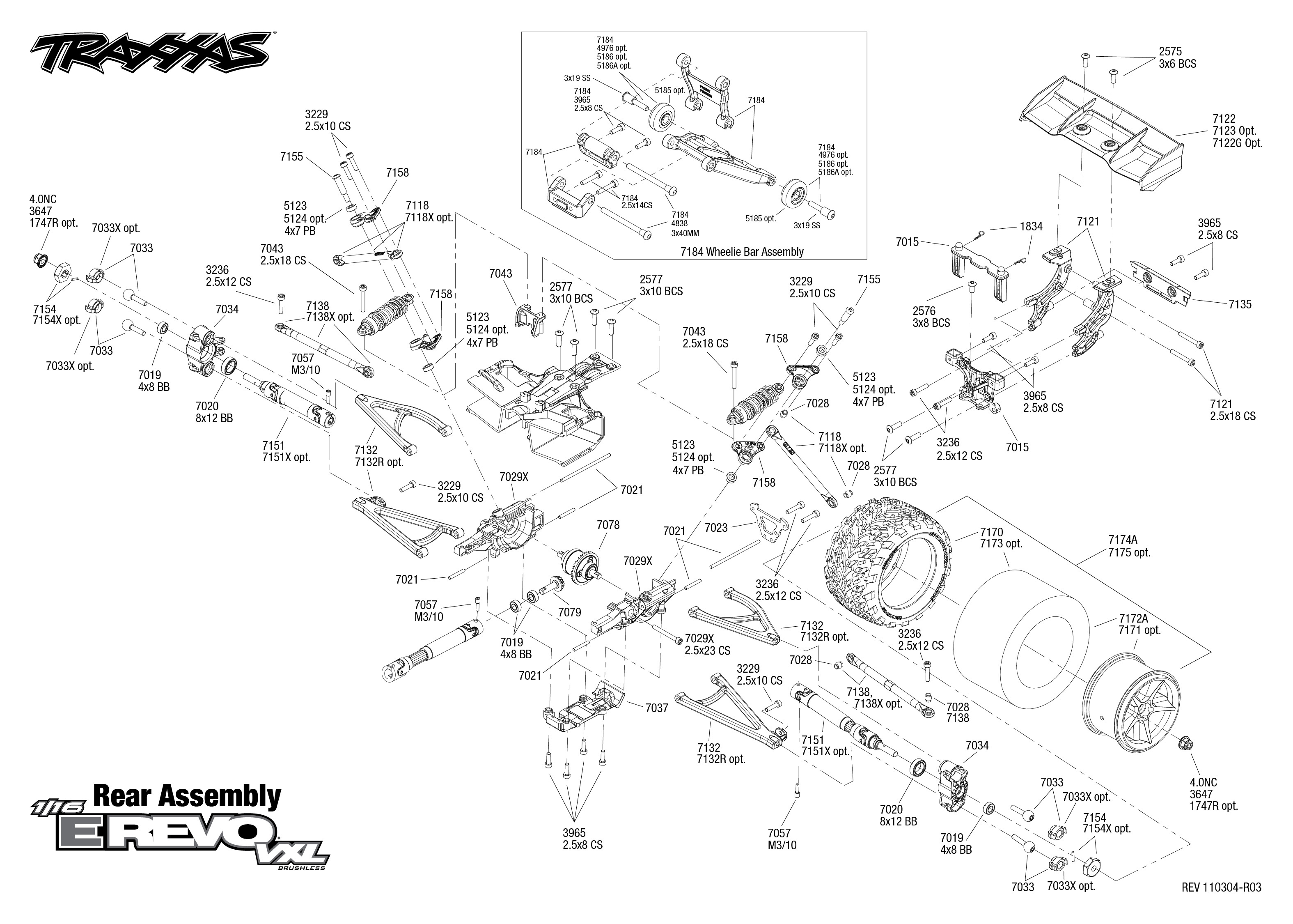 Traxxas Revo Parts Diagram Wiring Diagrams Speed Control For Induction Motors 1 Circuit Tradeoficcom E Rh Treatchildtrauma De 33 List Mini
