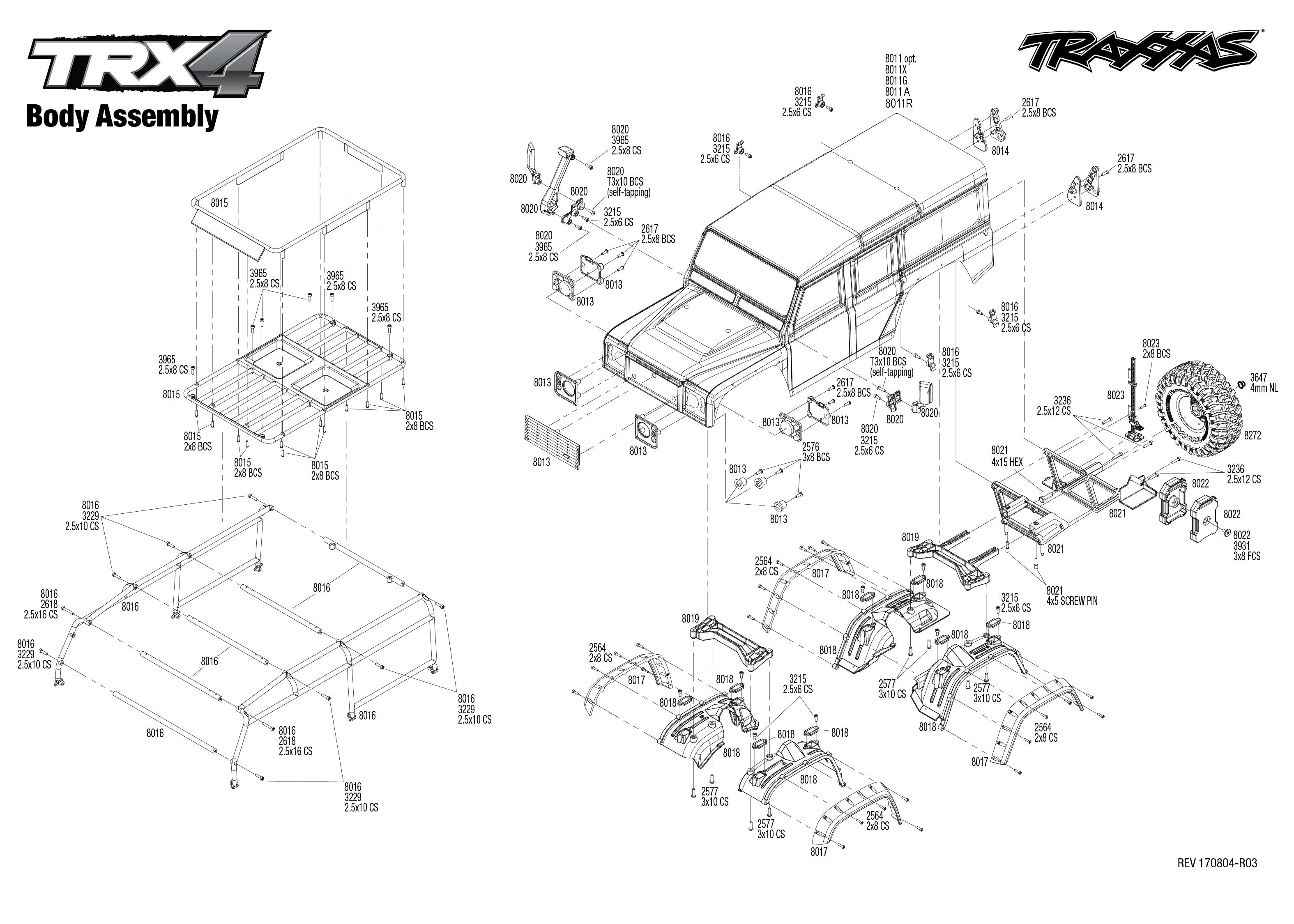 [Exploded View 1994 Land Rover Defender Manual