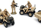 Airfix figurky - British Quad Bikes and Crew (1:48)