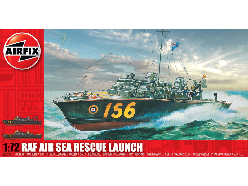 Airfix loď RAF Rescue Launch (1:72)