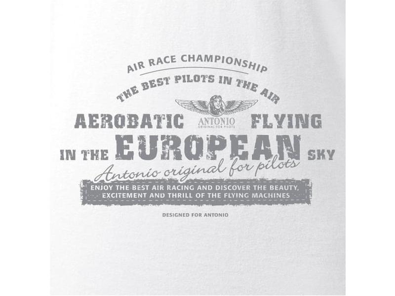 Antonio pánské tričko Aerobatica bílé XXL