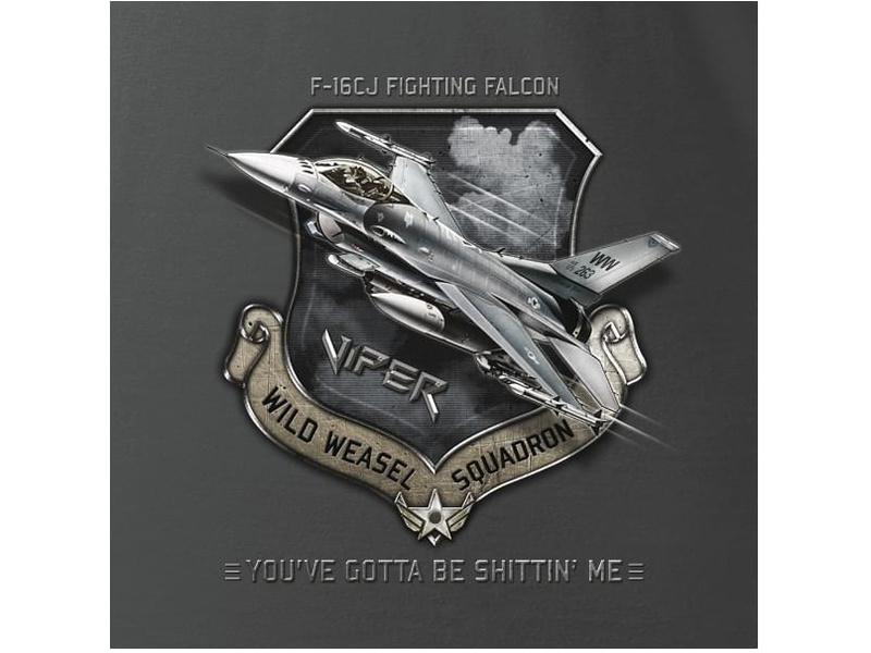 Antonio pánské tričko F-16CJ Fighting Falcon XL