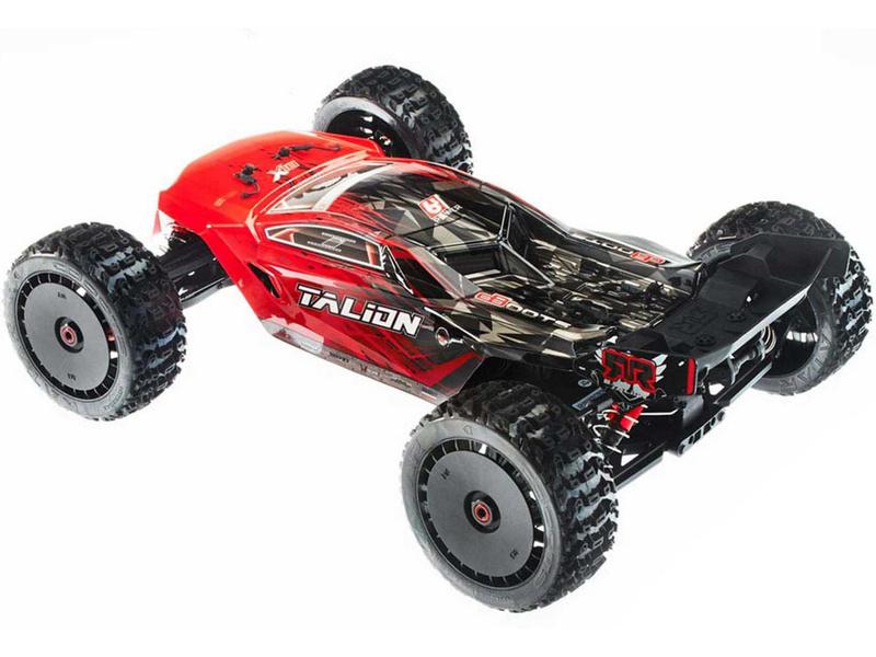 adc91ec67ce ARAD88RL - Arrma Talion 6S BLX 1 8 4WD červená