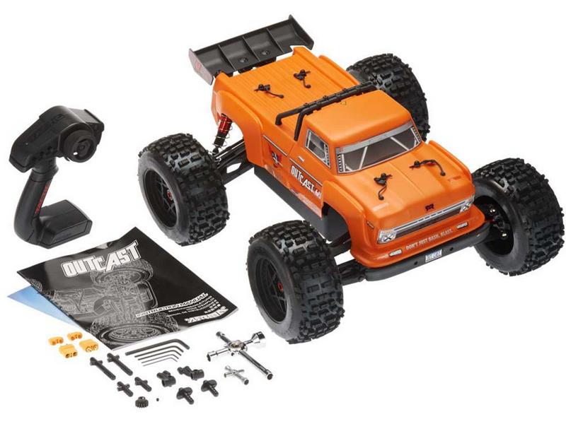 82cb6ba92e4 ... RC model auta Arrma Outcast 6S BLX 1 8  Obsah balení modelu - oranžová  ...