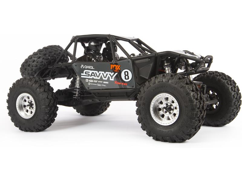 AXIAL AXIC3327 .040 Clear RR10 Bomber Body Toy Horizon Hobby