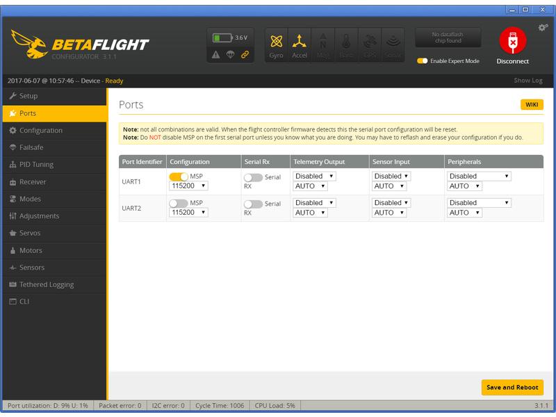 BLH8516 Blade Inductrix Pro FPV Betaflight Flight Control