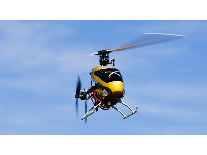 Blade® 200 SR X Advanced Settings and Setup Guide Trim Flight