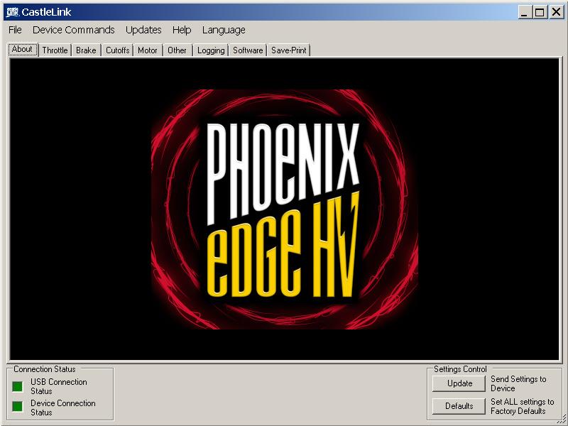 Castle regulátor Phoenix Edge 160HV