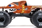 RC model auta ECX Brutus Monster Truck 2WD 1:10 RTR