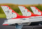 F-16 Thunderbirds 0.8m SAFE Select BNF Basic: Pohled