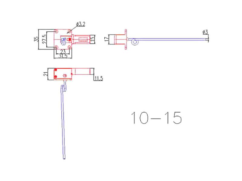 Zaťahovací podvozok elektro tr. 10-15 2-bodový