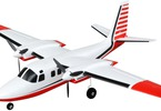 Micro Aero Commander AS3X BNF Basic: Pohled