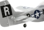 UMX P-51 Mustang BL BNF Basic: Detaily