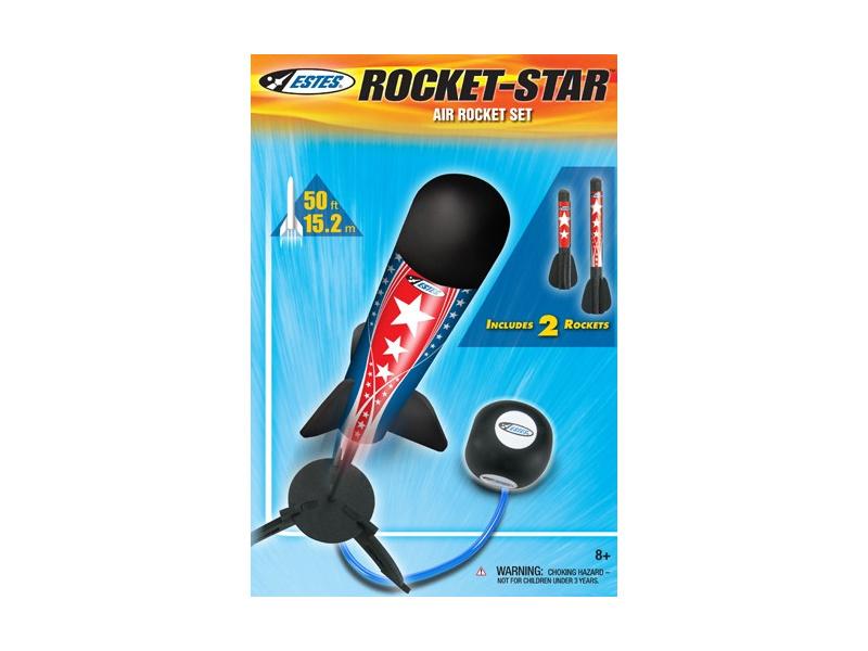 Estes Rocket Star pohon stlačeným vzduchem