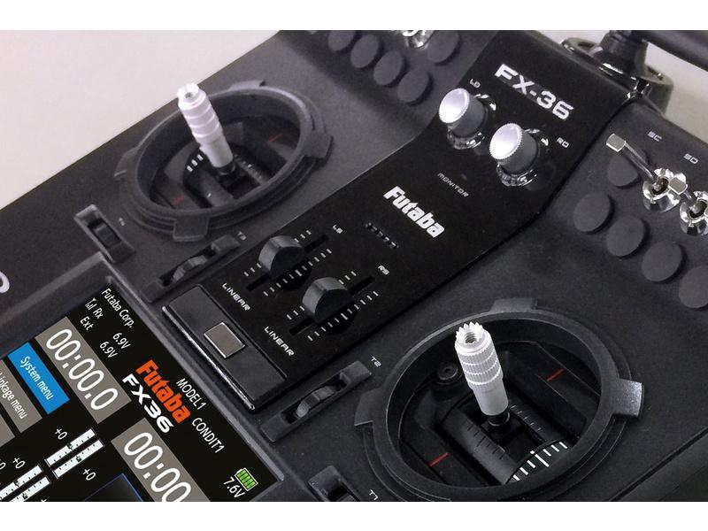 Futaba FX-36 2.4GHz, R7008SB, kufr