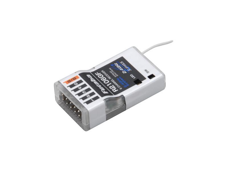 Futaba přijímač 6k R2106GF 2.4GHz S-FHSS/FHSS