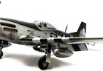P-51D Mustang 20cc 1,76m ARF: Pohled