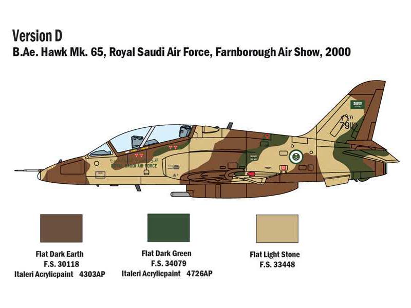 Hawk T1 Kit ITALERI /'1:72 IT1396