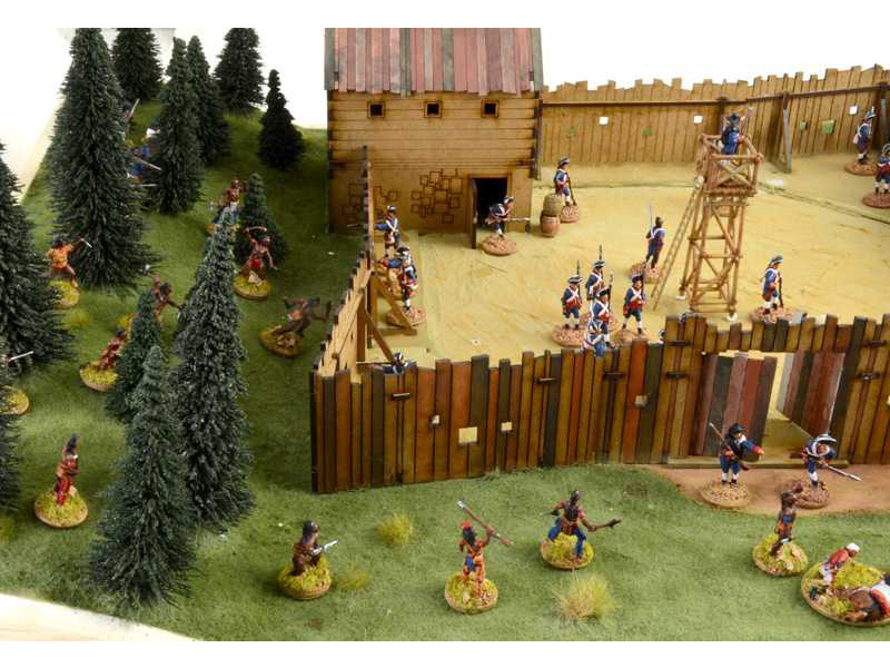 Locomotives For Sale >> Italeri diorama French-Indian War Last Outpost 1754-1763 ...