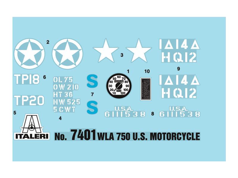 1:9 Harley-Davidson WLA 750