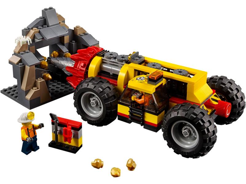 Lego City Mining Heavy Driller Lego60186 Astra