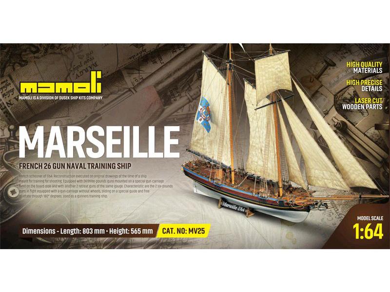 1:64 Marseille 1764 (stavebnica)