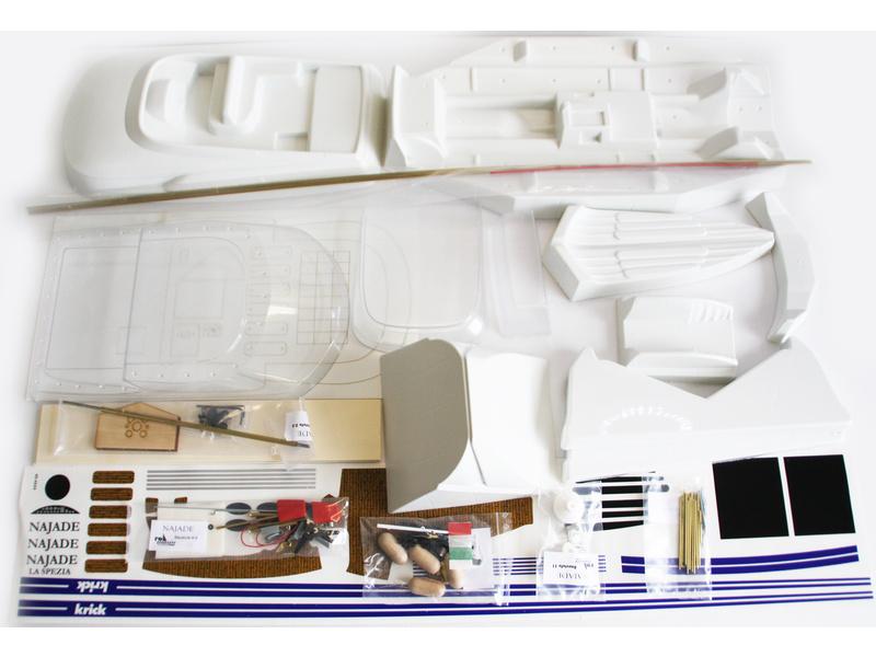 Krick Motorová jachta Najade (kit)