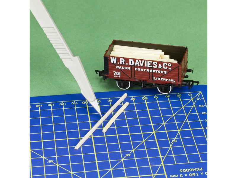 Modelcraft skalpel s rukojetí (3ks)