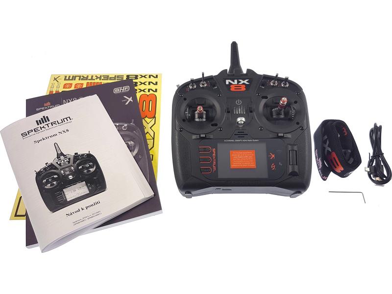 Spektrum NX8 DSMX pouze vysílač