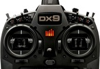 Spektrum DX9 DSMX Black Edition, AR9020, kufr