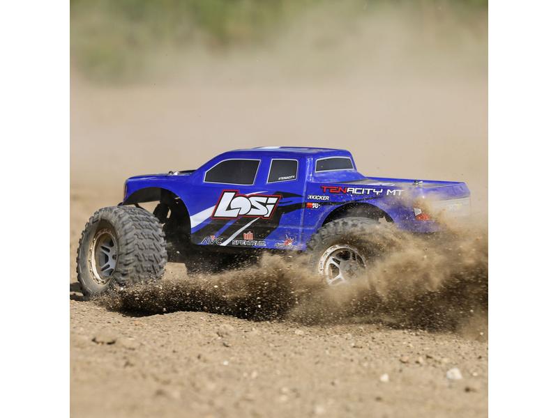 1:10 Losi Tenacity Monster Truck 4WD AVC (Blue)