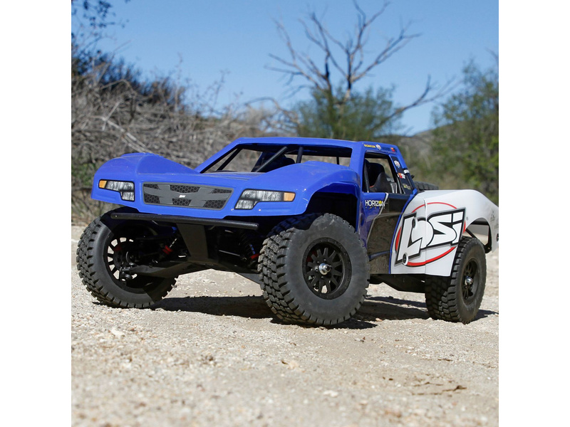 Losi LOS230022 Front Hood Blue Baja Rey